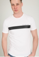 Koszulka z paskiem i napisem CALVIN KLEIN