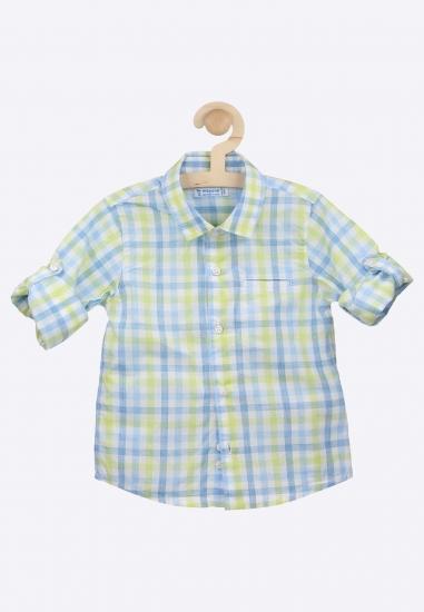 Koszula w kratę MAYORAL -...
