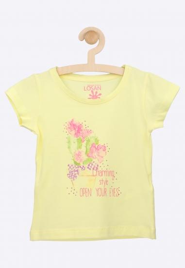 Dzianinowy T-shirt LOSAN -...