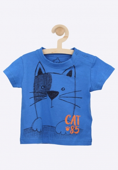 T- shirt z nadrukiem LOSAN...