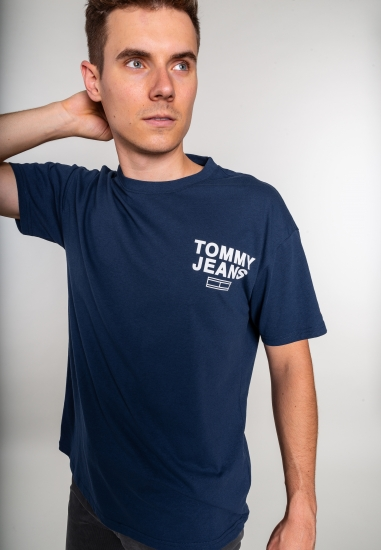 T-shirt z nadrukiem Tommy...