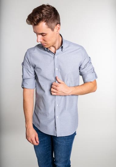 Wzorzysta koszula męska Eks