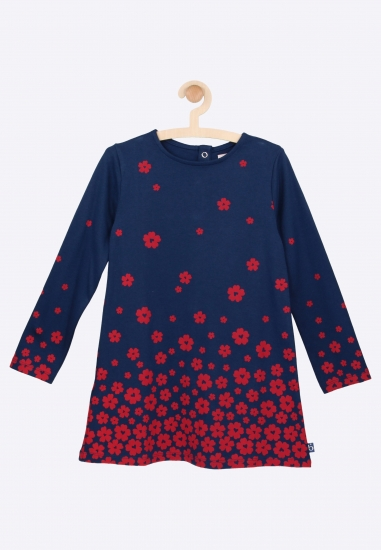 Sukienka we wzorki Boboli -...