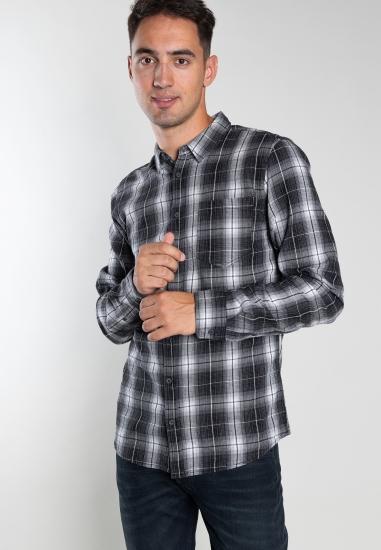 Bawełniana koszula w kratę Blend
