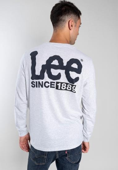 T-shirt z nadrukiem Lee -...
