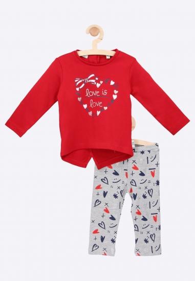 Komplet bluzka + legginsy Melby