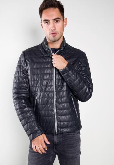 Skórzana pikowana kurtka Milestone