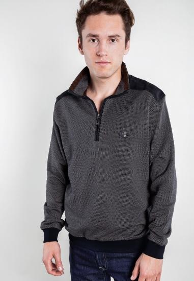 Sweter ze stójką i zapięciem Rotte Mediterranee