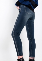 Spodnie jeansowe ze zdobieniami Chiara d'Alba