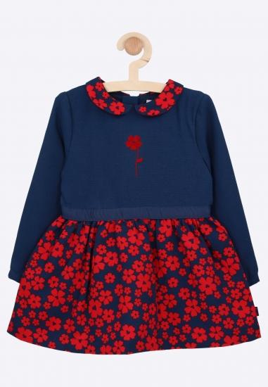 Sukienka w kwiatuszki Boboli