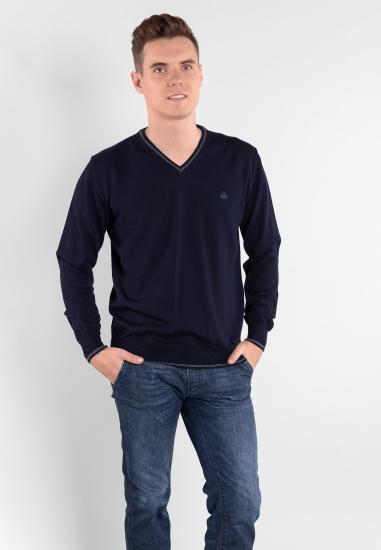 Sweter z wełny merino...