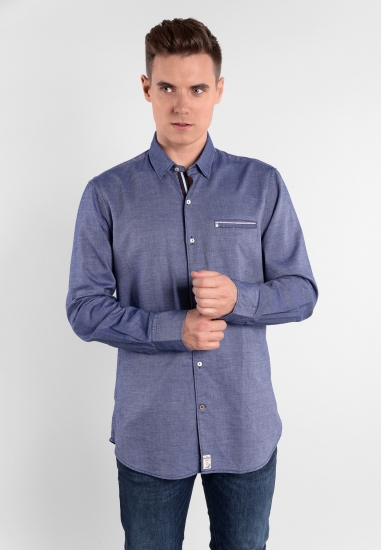Bawełniana koszula slim fit Pierre Cardin