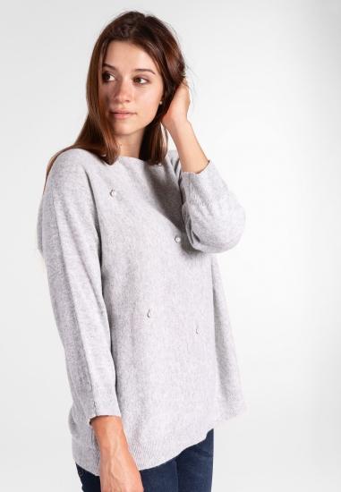 Sweter z perełkami Ella Lu