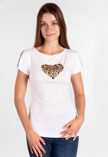 T-shirt z nadrukiem Eks