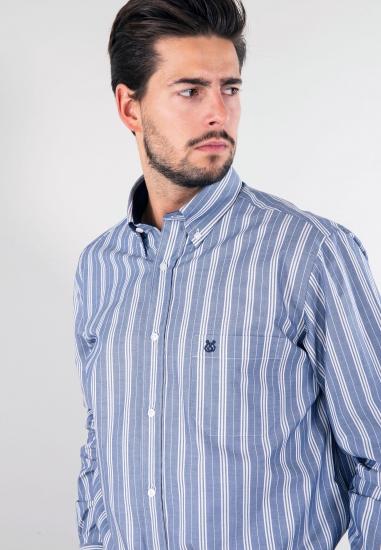 Koszula w paski regular Rotte Mediterranee