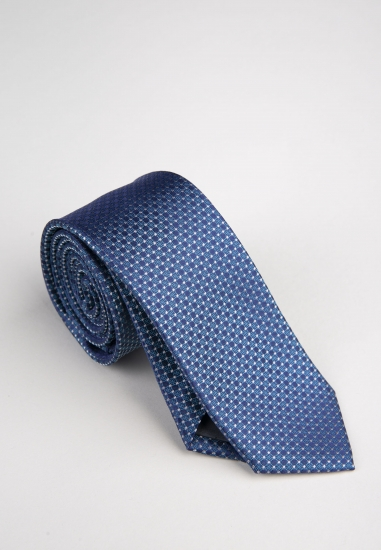 Krawat jedwabny Venti -...