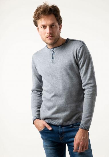 Sweter z bawełny Pioneer