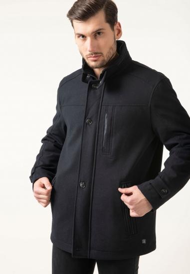Krótki płaszcz ze stójką...