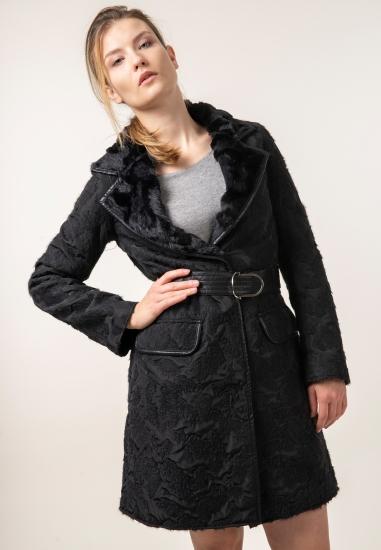 Płaszcz z paskiem Penny...