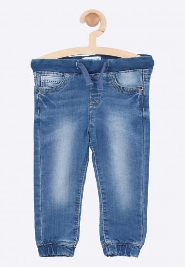 Cieniowane jeansy ze...