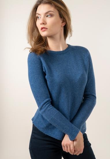 Sweter z mieszanki wełny i kaszmiru Taifun