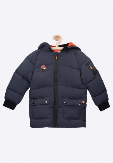 Pikowana kurtka z kapturem Mayoral