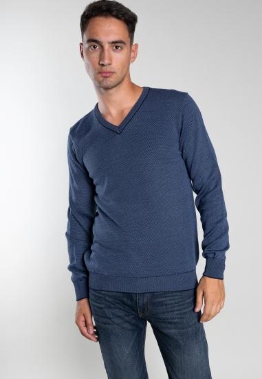Big size melanżowy sweter...