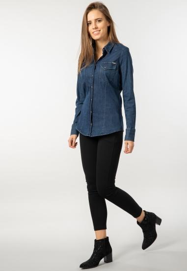 Koszula jeansowa Gas -...