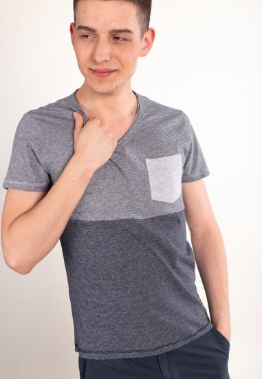 T-shirt z kieszonką YES ZEE