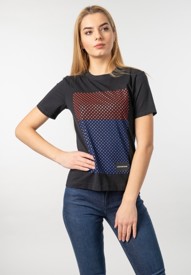 T-shirt z nadrukiem Calvin Klein