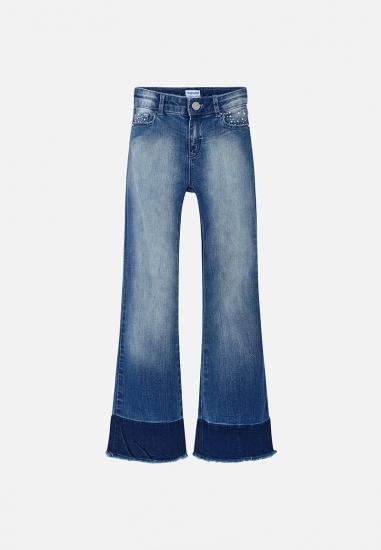 Spodnie jeansowe dzwony Mayoral