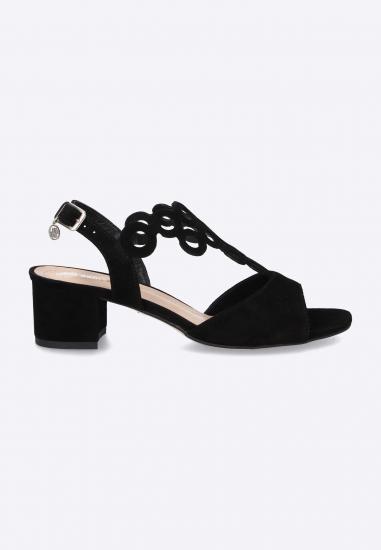 Sandały damskie na obcasie...