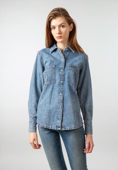 Koszula jeansowa damska Calvin Klein