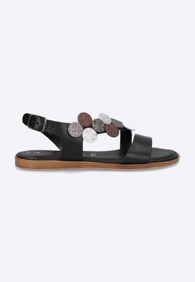 Płaskie sandały ze zdobieniem Tamaris