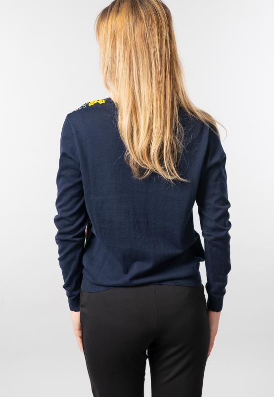 Wzorzysty sweter damski Garcia