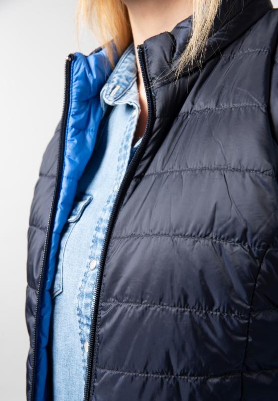 gerry weber niebieska kurtka pikowana