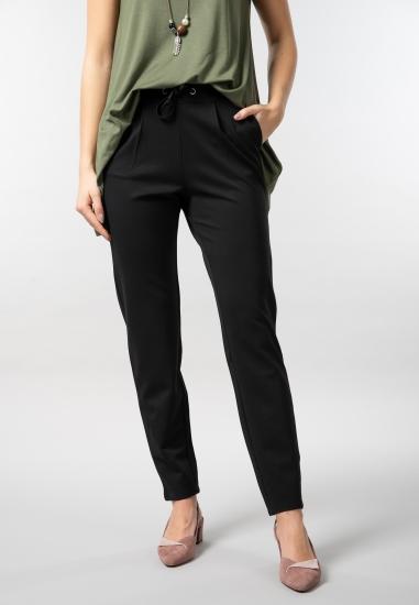 Materiałowe spodnie damskie...