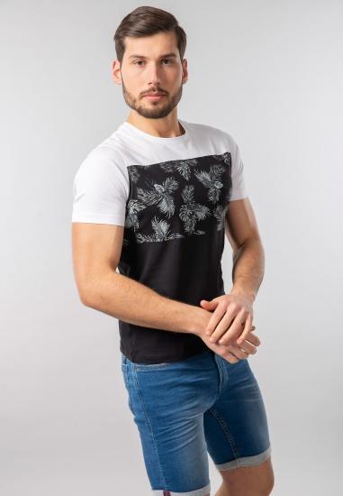 T-shirt męski z nadrukiem Eks