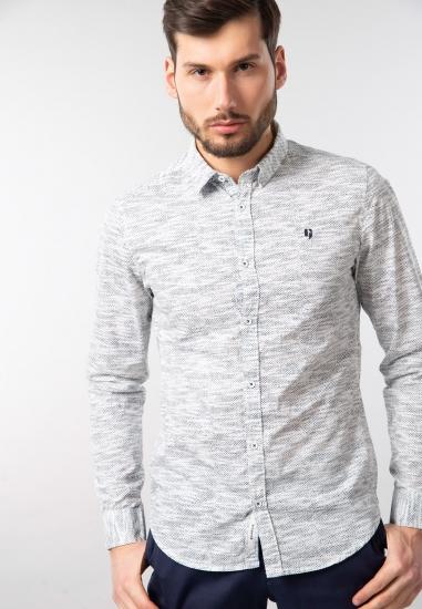 Męska koszula we wzory slim fit Garcia