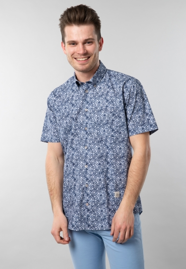 Wzorzysta koszula męska z...