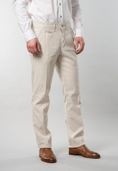 Spodnie męskie z domieszką...