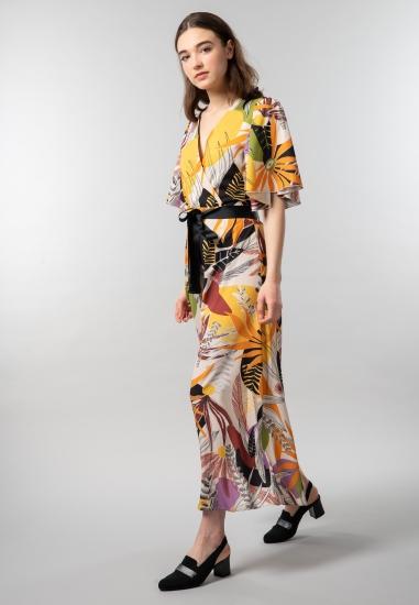 Wzorzysta sukienka Artigli...