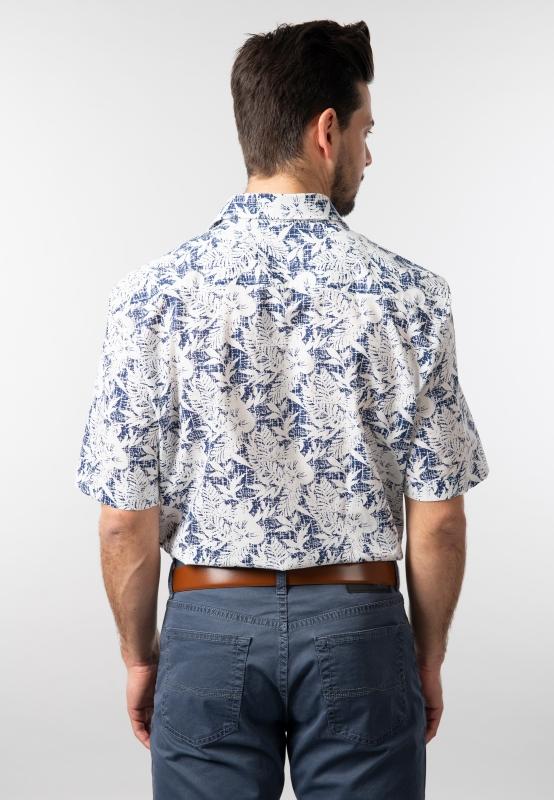 Wzorzysta koszula modern fit Haupt | Nico  1ZwUi