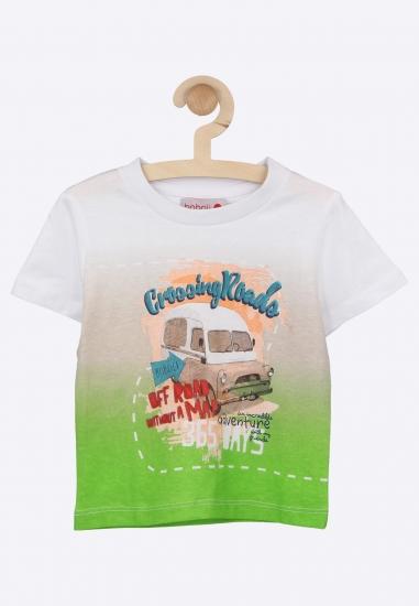 Cieniowana koszulka z...