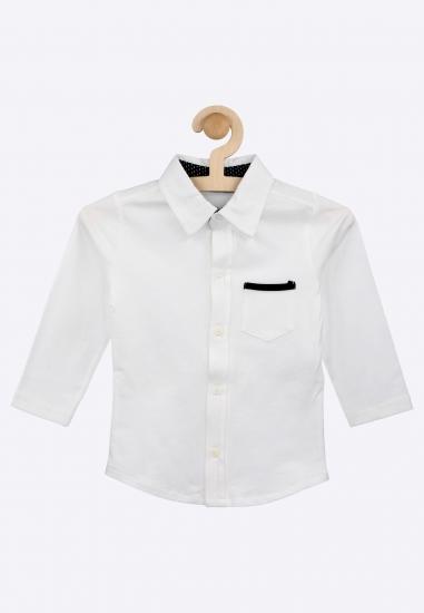 Dzianinowa koszula MELBY -...