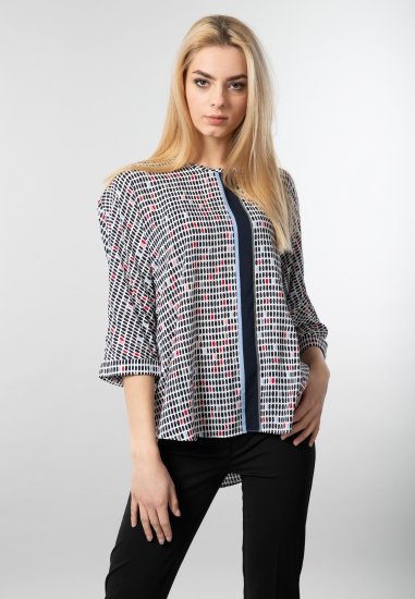 Wzorzysta bluzka damska Samoon