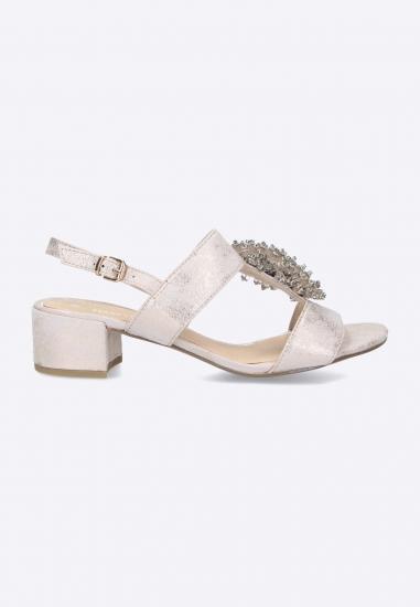 Sandały damskie na obcasie Marco Tozzi