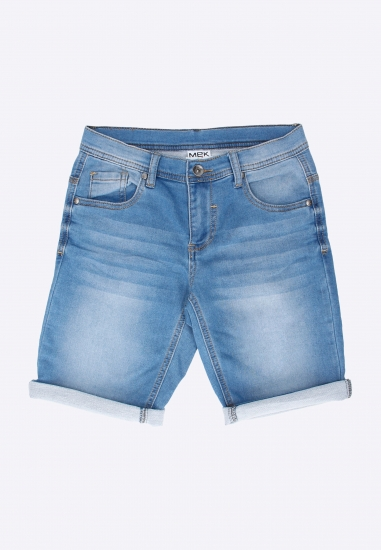 Spodenki jeansowe chłopięce Mek - 007147 JEANS