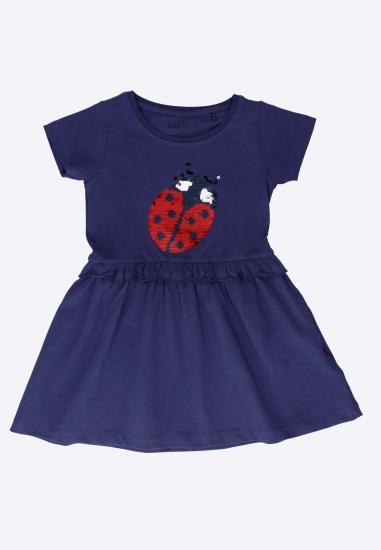 Sukienka dziewczęca Blue Seven - 007546 GRANAT