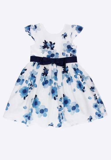 Wzorzysta sukienka IDO